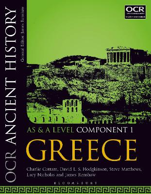 OCR Ancient History AS and A Level Component 1: Greece - Cottam, Charlie, and Hodgkinson, David, and Matthews, Steve