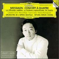 Olivier Messiaen: Concert à Quatre - Catherine Cantin (flute); Mstislav Rostropovich (cello); Yvonne Loriod (piano); Bastille Opera Orchestra;...