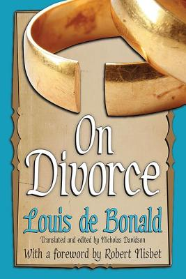 On Divorce - De Bonald, Louis