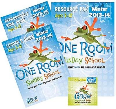 One Room Sunday School Kit Winter 2013-14: Grow Your Faith by Leaps and Bounds - Abingdon Press (Creator)