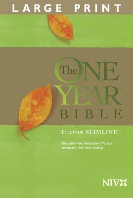 One Year Premium Slimline Bible-NIV-Large Print - Tyndale House Publishers (Creator)