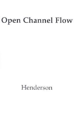 Open Channel Flow *Aod* - Henderson