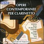 Opere Contemporanee per Clarinetto