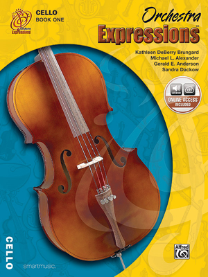 Orchestra Expressions, Book One Student Edition: Cello, Book & CD - Brungard, Kathleen Deberry, and Alexander, Michael, and Anderson, Gerald