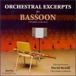 Orchestral Excerpts for Bassoon
