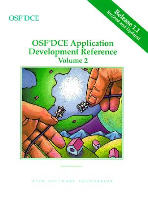 OSF DCE Application Development Reference Volume II - Open Software Foundation