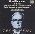 Otto Klemperer Conducts Beethoven, Mozart, Brahms
