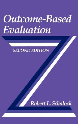 Outcome-Based Evaluation - Schalock, Robert L