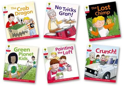 Oxford Reading Tree: Stage 4: Floppy's Phonics Fiction: Pack of 6 - Roderick Hunt, Kate Ruttle