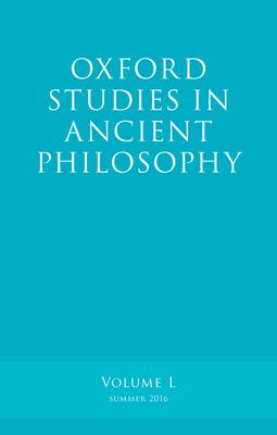 Oxford Studies in Ancient Philosophy, Volume 50 - Caston, Victor (Editor)