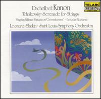 Pachelbel: Kanon; Tchaikovsky: Serenade for Strings - Saint Louis Symphony Orchestra; Leonard Slatkin (conductor)