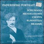Paderewski Portrait