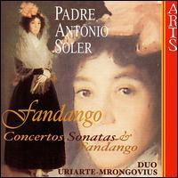 Padre Antonio Soler: Fandango - Begona Uriarte (piano); Karl-Hermann Mrongovius (piano)
