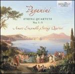 Paganini: String Quartets Nos. 1-3