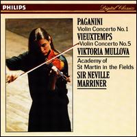 Paganini: Violin Concerto No. 1; Vieuxtemps: Violin Concerto No. 5 - Viktoria Mullova (violin); Academy of St. Martin-in-the-Fields; Neville Marriner (conductor)