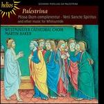 Palestrina: Missa Dum complerentur; Veni Sancte Spiritus