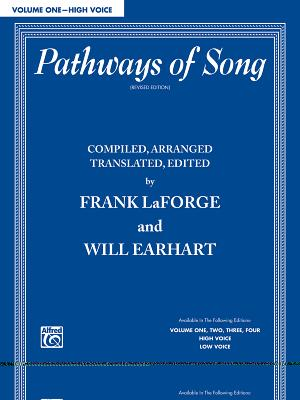 Pathways of Song, Volume 1: High Voice - LaForge, Frank, and Earhart, Will