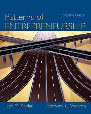 Patterns of Entrepreneurship - Kaplan, Jack M, and Warren, Anthony C