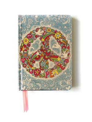 Peace Sign (Contemporary Foiled Journal) - Flame, Tree