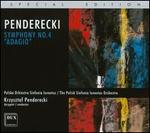 "Penderecki: Symphony No. 4 ""Adagio"""