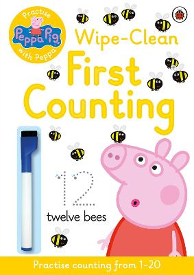 Peppa Pig: Practise with Peppa: Wipe-Clean First Counting - Peppa Pig