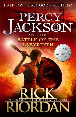 Percy Jackson and the Battle of the Labyrinth - Riordan, Rick