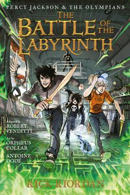 Percy Jackson and the Olympians: The Battle of the Labyrinth: The Graphic Novel - Riordan, Rick, and Venditti, Robert
