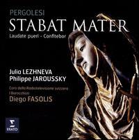 Pergolesi: Stabat Mater; Laudate Pueri; Confitebor - I Barocchisti; Julia Lezhneva (soprano); Philippe Jaroussky (counter tenor); Coro della Radio Svizzera (choir, chorus);...