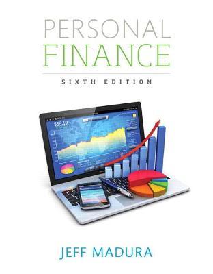 Personal Finance - Madura, Jeff
