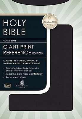 Personal Size Giant Print Reference Bible-KJV - Nelson Bibles (Creator)