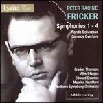Peter Racine Fricker: Symphonies Nos. 1-4; Rondo Scherzoso; Comedy Overture