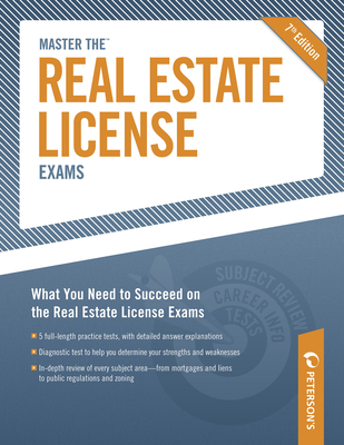 Peterson's Master the Real Estate License Exams - Peterson's, and DeAngelis, Therese (Editor)