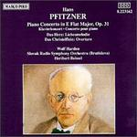 Pfitzner: Piano Concerto in E flat major, Op. 31