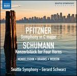 Pfitzner: Symphony in C; Schumann: Konzertstuck for Horn