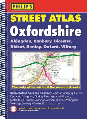 Philip's Street Atlas Oxfordshire 5ED Spiral (New Edition) -