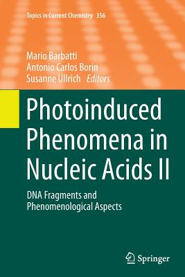 Photoinduced Phenomena in Nucleic Acids II: DNA Fragments and Phenomenological Aspects - Barbatti, Mario (Editor)