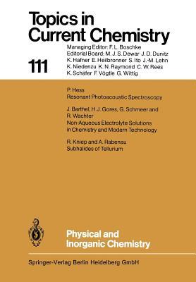 Physical and Inorganic Chemistry - Barthel, J