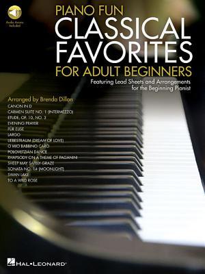 Piano Fun - Classical Favorites for Adult Beginners - Dillon, Brenda