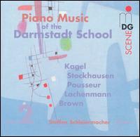 Piano Music of the Darmstadt School, Vol. 2 - Josef Christof (piano); Steffen Schleiermacher (piano)