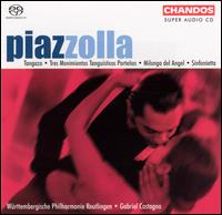 Piazzolla: Symphonic Works  - W�rttembergische Philharmonie Reutlingen; Gabriel Castagna (conductor)
