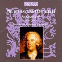 Pietro Antonio Locatelli: Sei Sonate � tr�, Opera Quinto - Modo Antiquo; Federico Maria Sardelli (conductor)