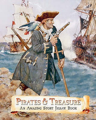 Pirates and Treasure: An Amazing Story Jigsaw Book -