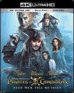 Pirates of the Caribbean: Dead Men Tell No Tales [4K Ultra HD Blu-ray/Blu-ray]