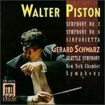 Piston: Symphony Nos. 2 & 6; Sinfonietta