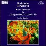 Pizzetti: String Quartets