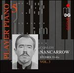 Player Piano 5: Conlon Nancarrow Vol. 3 - Studies 33-41c