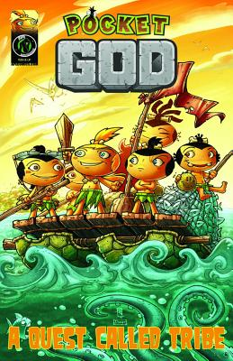 Pocket God: A Quest Called Tribe - Burns, Jason M, and Mallado, Rolando