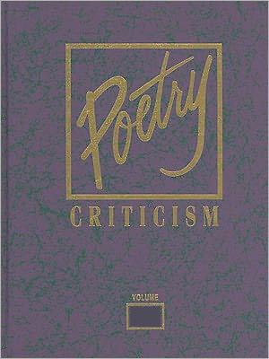Poetry Criticism - Lee, Michelle (Editor)
