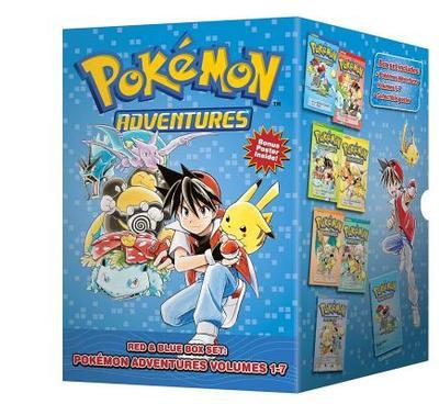 Pokemon Adventures Red & Blue Box Set: Set Includes Vol. 1-7 - Kusaka, Hidenori