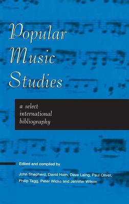 Popular Music Studies: Select I - Shepherd, John (Compiled by)